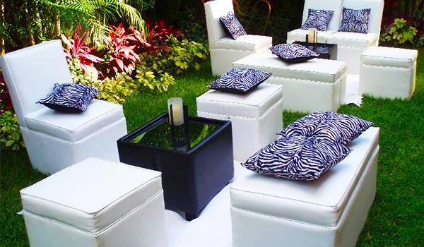 renta de mobiliario Lounge