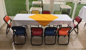 renta de sillas y mesas para fiestas