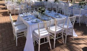 renta de sillas y mesas tiffany