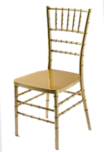 alquiler de sillas tiffany dorada